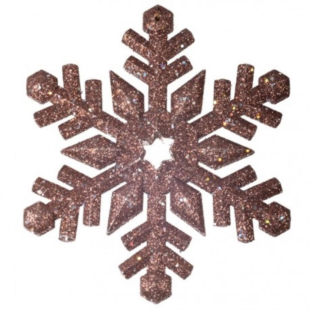 12 cm snefnug, glitter, choko-32