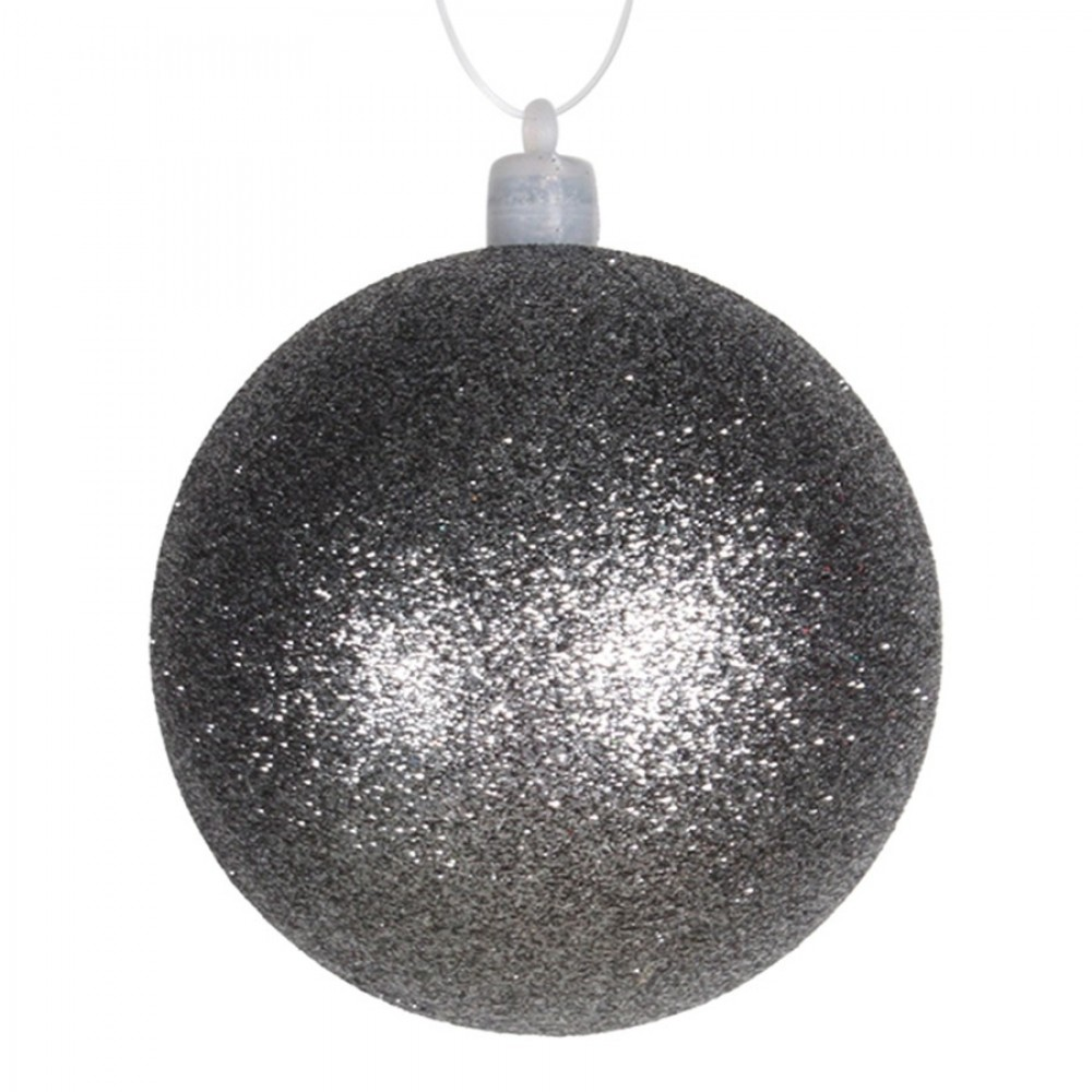 8 cm julekugle med glitter, gunpowder-31