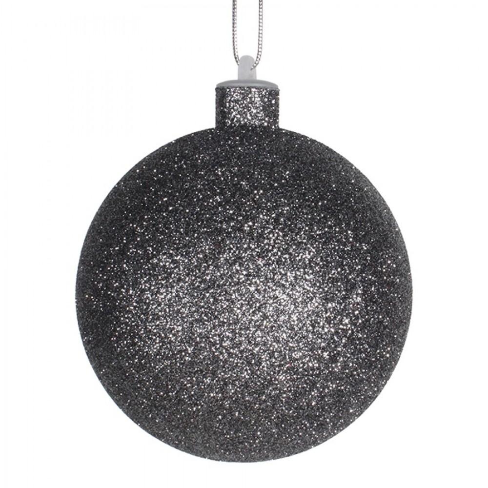 10 cm julekugle med glitter, gunpowder-31