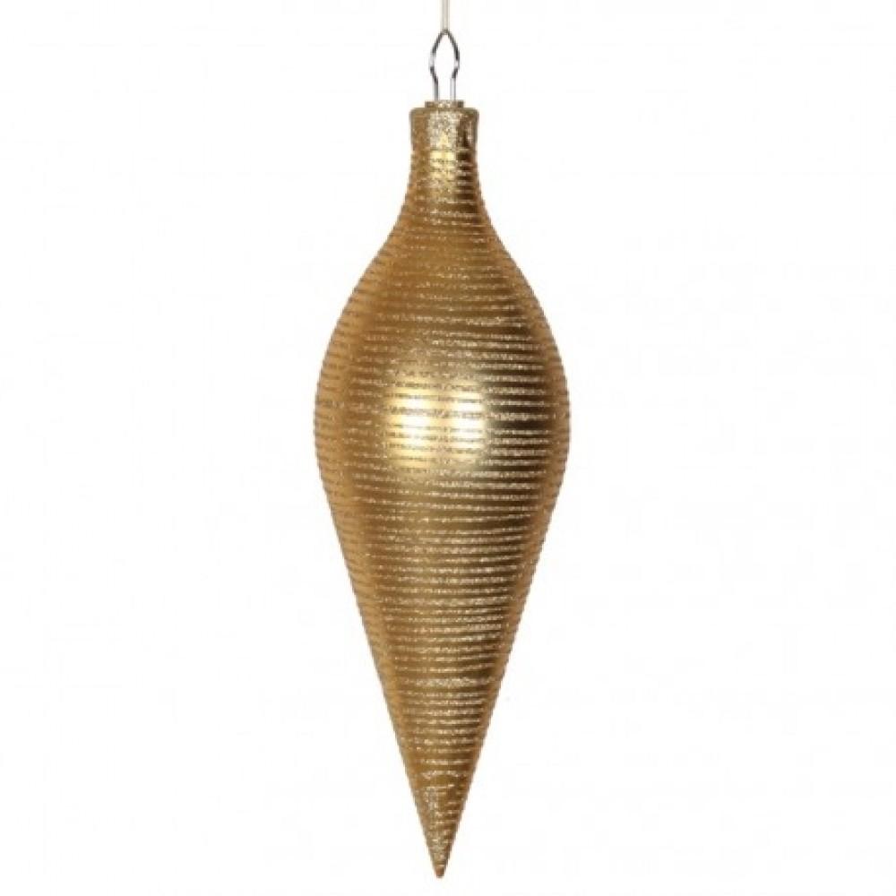 40 cm top, mat guld m/guldglitter-31