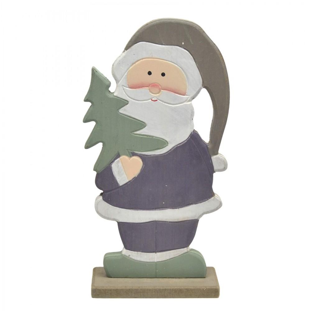 Julemand i træ, 21 cm-31