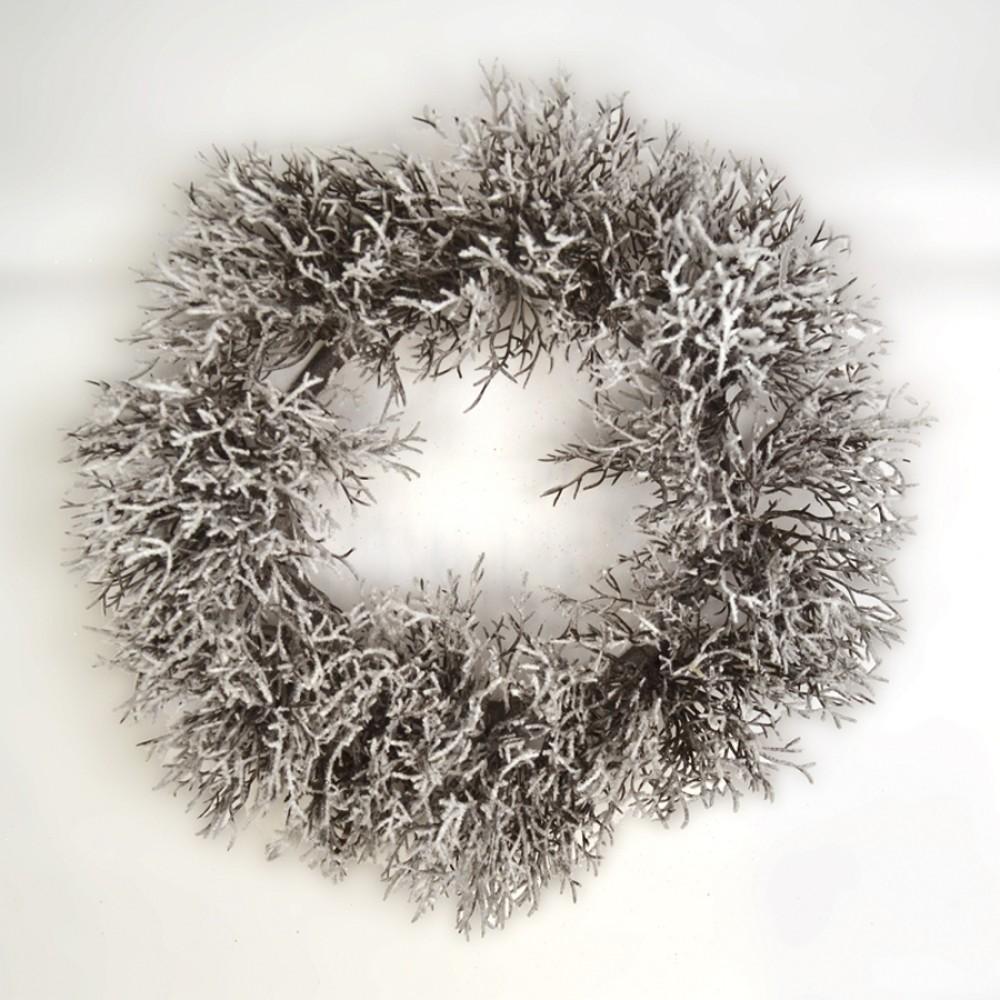 Krans, m/sne, 25 cm-31