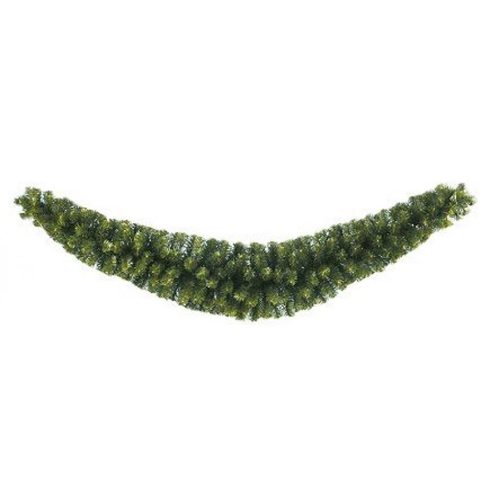 180 cm kunstgran SWAG guirlande, 285 tips, Ø14–35 cm-31