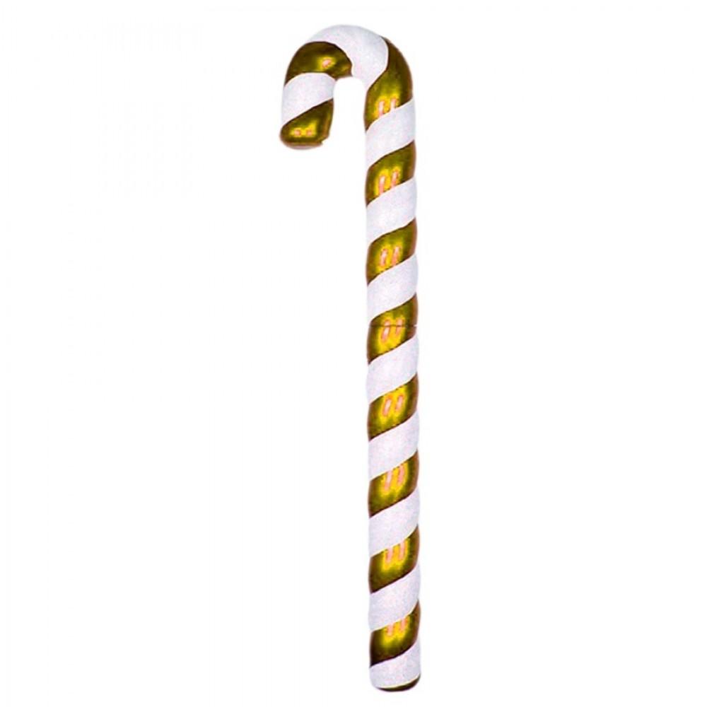 120 cm slikstok, perlemor, guld m/hvidt glitter-31