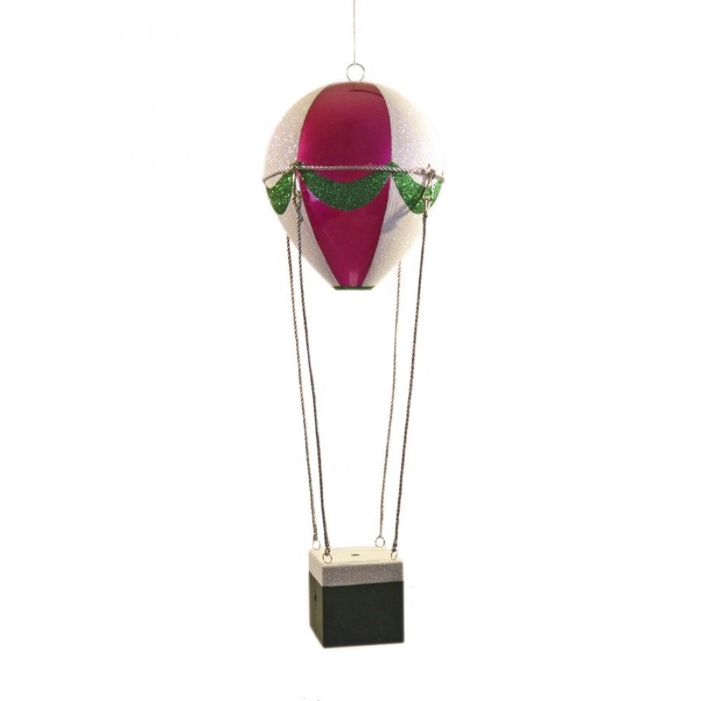 48 cm luftballon, pink, grøn og hvid-31
