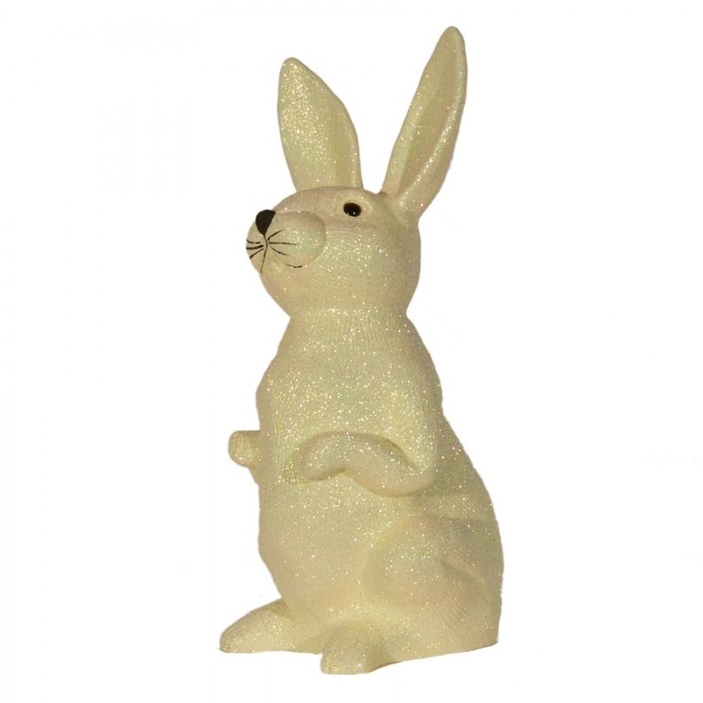 Påskehare, æggeskal-glitter, 48 cm-02