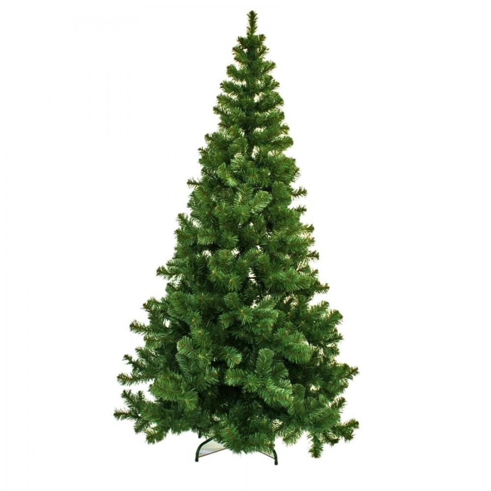 240 cm kunstgran juletræ, Ø144 cm-31