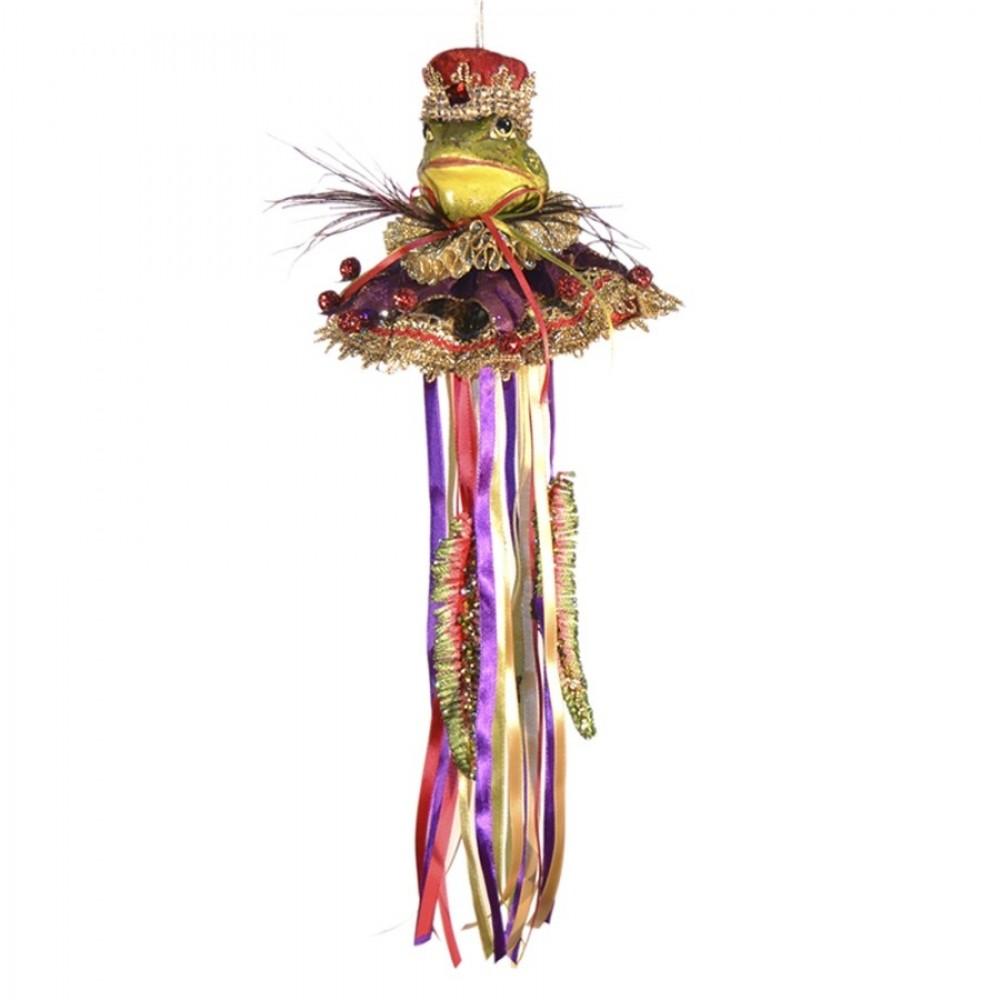 Kongefrø dukke, ornament, 43 cm-31
