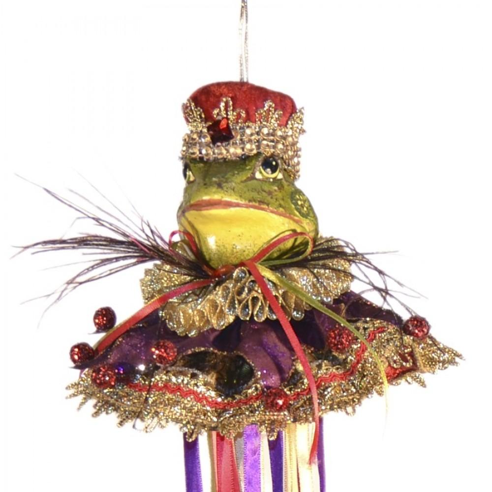 Kongefrø dukke, ornament, 43 cm-01