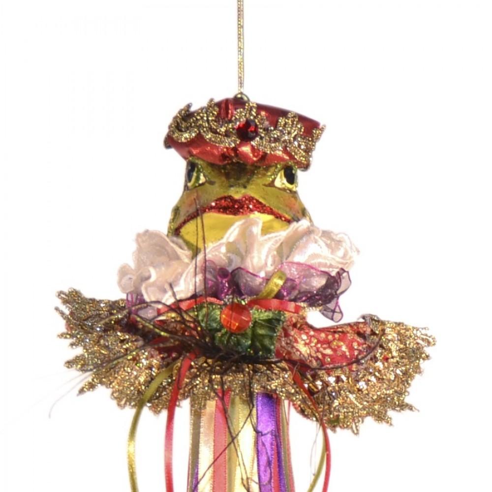 Dronningefrø, dukke ornament, 50 cm-01