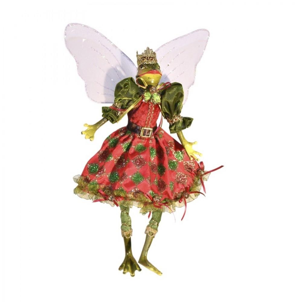 Dronningefrø fe, dukke, 30 cm-31