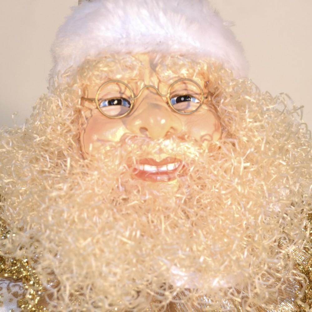 Julemands hoved, ornament, 55 cm-03