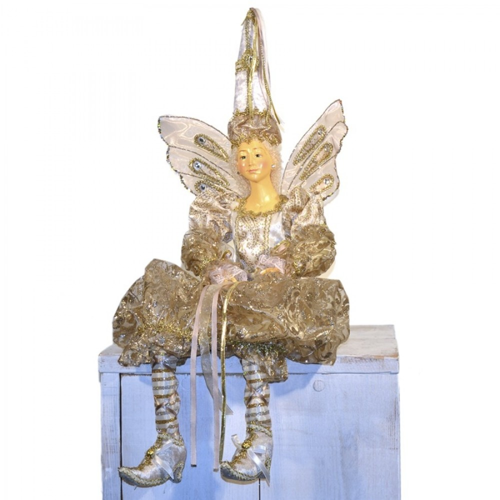 Flyvende fe dukke, gudmor, 60 cm-04