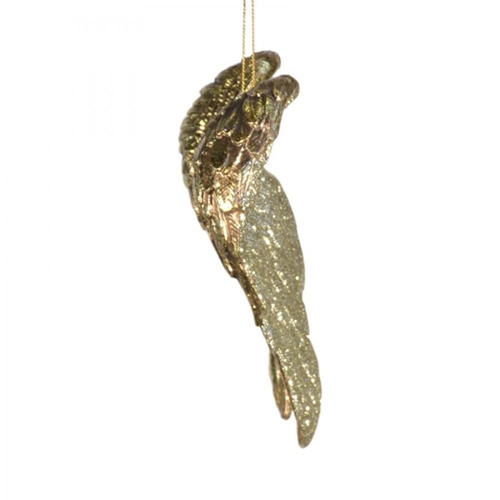14 cm englevinger, antik guld m/champagne glitter-03