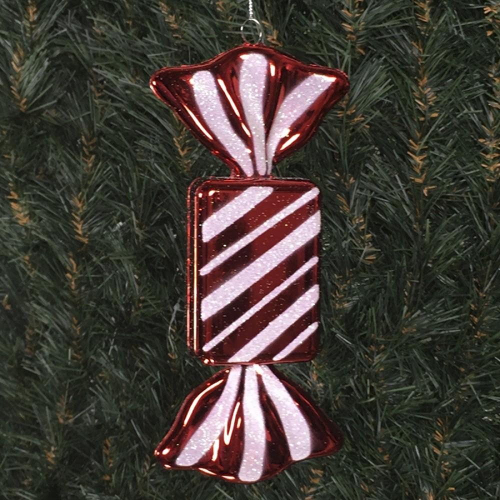 20 cm regtangulær slik, blank rød-31