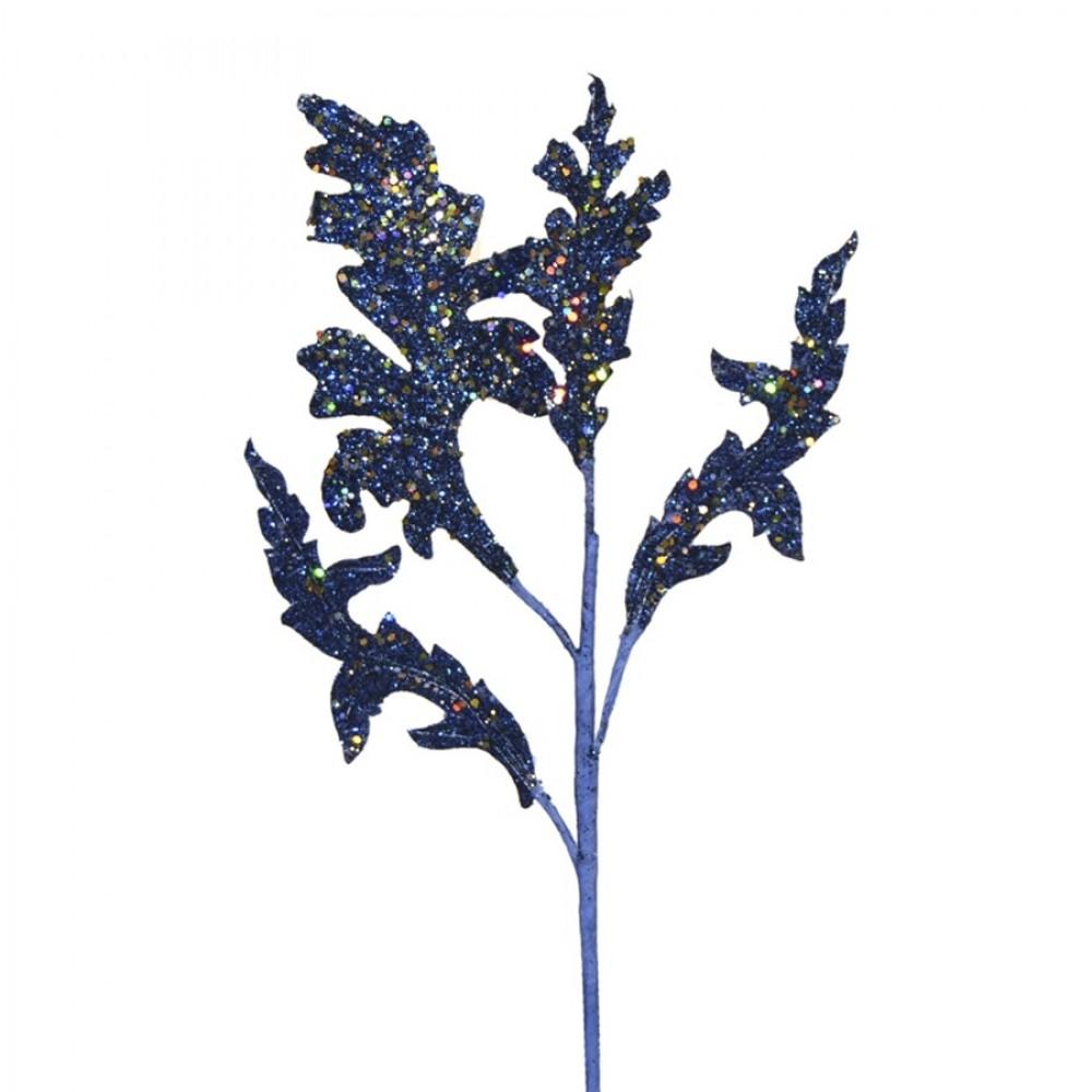 Dekogren, mørk blå med glitter-31