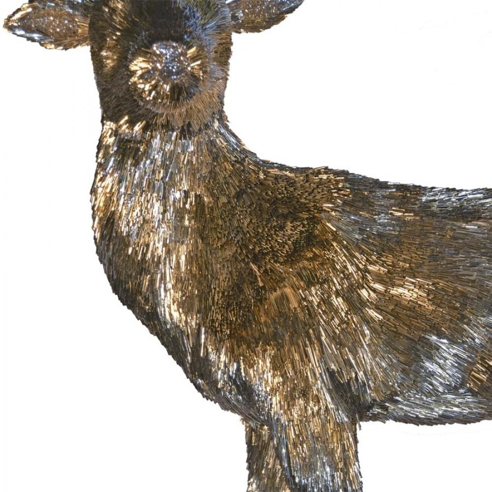Dyr, hun, stående, 112x45x108 cm-01