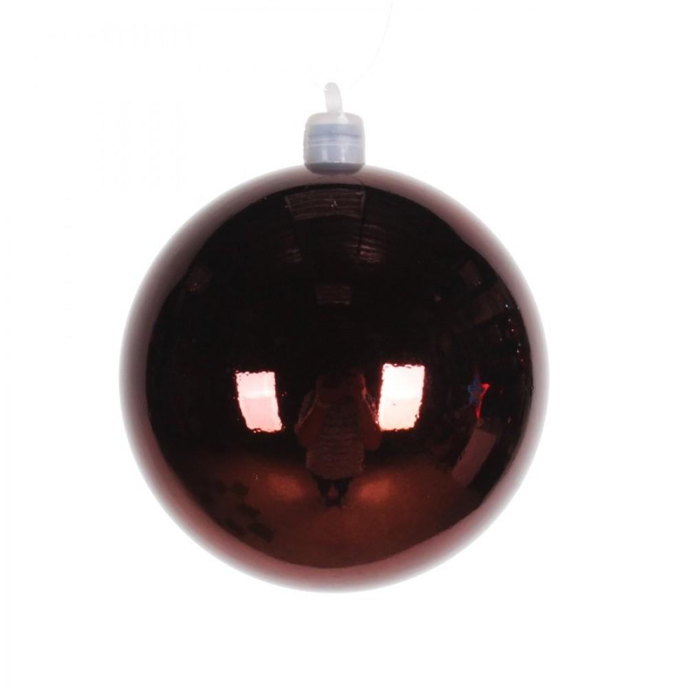 8 cm julekugle, blank, choko-31