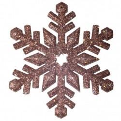 12 cm snefnug, glitter, choko-20