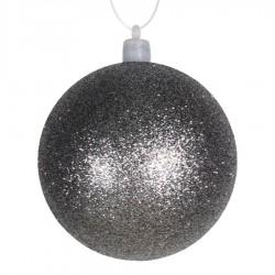 8 cm julekugle med glitter, gunpowder-20