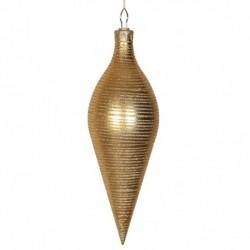 40 cm top, mat guld m/guldglitter-20