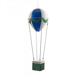 48 cm luftballon, blå, grøn og hvid-20