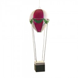 48 cm luftballon, pink, grøn og hvid-20