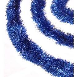 3 meter blå lametta, eksklusiv kvalitet, Ø15 cm, 3 meter,-20