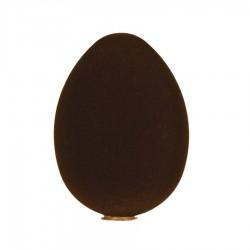 Påskeæg, stående, brun velour, 24 cm-20