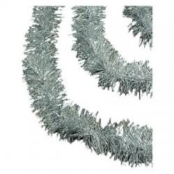 3 meter sølv-lametta, eksklusiv kvalitet, Ø15 cm, 3 meter,-20