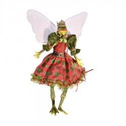 Dronningefrø fe, dukke, 30 cm-20