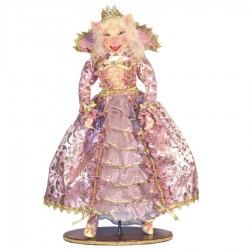 Mrs. Pig dukke, 50 cm med stand-20