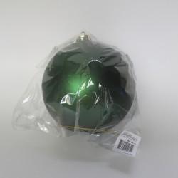15 cm julekugle, mat grøn-20