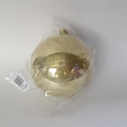 15 cm julekugle, perlemor guld-20
