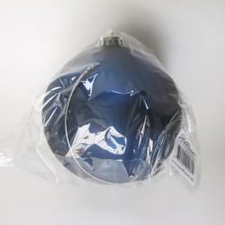 15 cm julekugle, mat blå-20