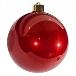 25 cm julekugle, perlemor rød-20