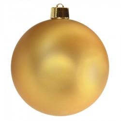 25 cm julekugle, mat guld-20