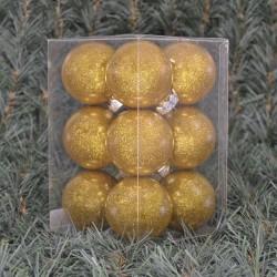 6cmjulekuglerblankmedindvendigguldglitter12stkiboks-20
