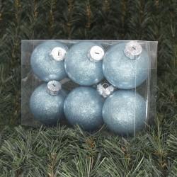 8cmjulekuglerblankmedindvendiglyseblglitter6stkiboks-20