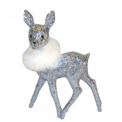 Bambi22x15cmslvglittermedhvidpelsboa-20