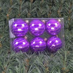 6cmjulekuglerperlemorlillamedswirldekoafchampagneglitter6stkiboks-20