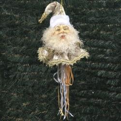 Julemands hoved, ornament, 55 cm-20