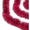3 meter rød-lametta, eksklusiv kvalitet, Ø15 cm, 3 meter,-02