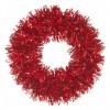 28 cm lamettakrans, rød-01