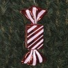 20 cm regtangulær slik, blank rød-01