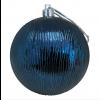 8 cm kugle, midnatsblå-børstet, 3 stk i boks-01