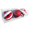Julekugler striber/glimmer, 6 cm, 3 stk./boks-01