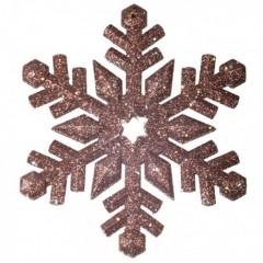 12 cm snefnug, glitter, choko