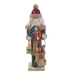 23,5 cm retro nøddeknækker-julemand