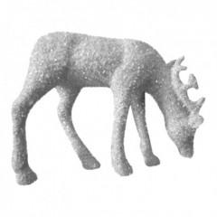 25 cm dyr, hvid